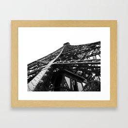 Eiffel Tilt Framed Art Print