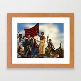 The Allegory of Jab Framed Art Print