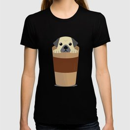 Coffee and Pugs Pet Dog Lovers - Coffee Lovers T-shirt