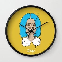 RBF 3 Wall Clock