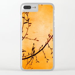 Harvest Vine Clear iPhone Case