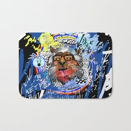 Gee The Party Wolf Remixed Bath Mat