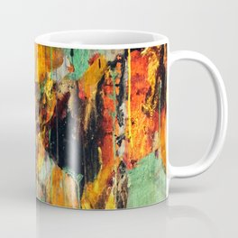 Untitled Abstract - Taunting Jester Coffee Mug