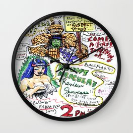 Kount Kracula's Review Showcase -TV Show Promo Poster #2 Wall Clock