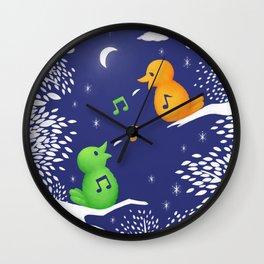 Heart Song Wall Clock