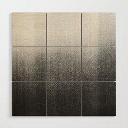 BLUR / abyss / black Wood Wall Art