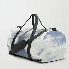 Temple on the Mountain Duffle Bag