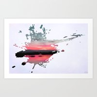 storm Art Prints featuring Storm by Last Call