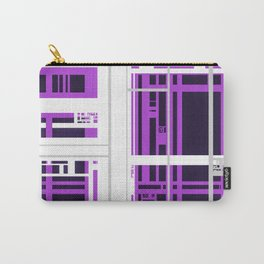 Building Site Abstract Carry-All Pouch