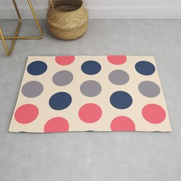 52 Colorful circles - matches 28, 32, 36, 40, 44, 48 patterns Rug