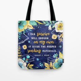 I can survive Tote Bag