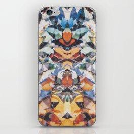 Rorschach Flowers 4 iPhone Skin