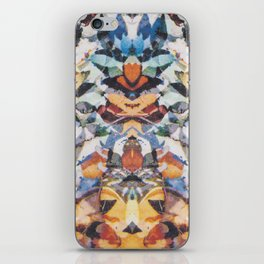 Rorschach Flowers 4 iPhone Skin