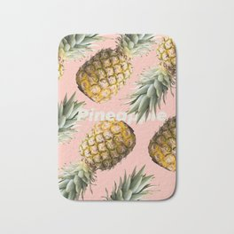 Pineapple loving Bath Mat