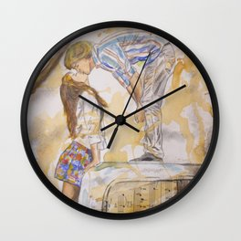 Country Love Wall Clock