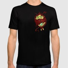 Ginger Toy Black SMALL Mens Fitted Tee
