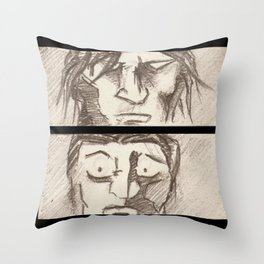 STAND OFF! Throw Pillow