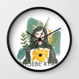 Phoebe Ryan Wall Clock