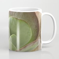 Succulent Big Leaf Mug