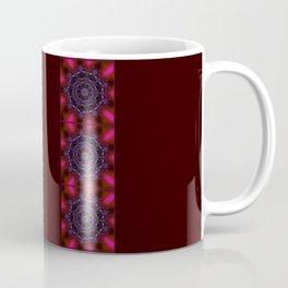 Purple and Green Modern Bejeweled Mandala Coffee Mug