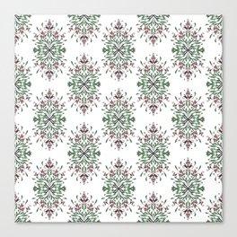 Wild plant pattern 3 Canvas Print