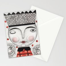 The White Queen Stationery Cards