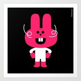 Bleep : idokungfoo.com Art Print