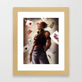 Hisoka (cards) Artwork Framed Art Print
