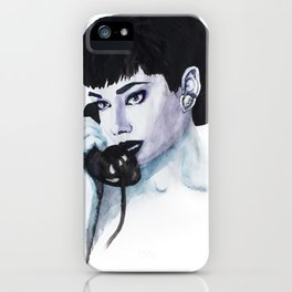 Audrey Is Calling iPhone Case