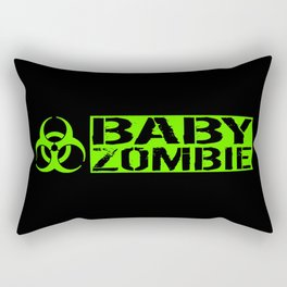 Baby Zombie: Biohazard Rectangular Pillow