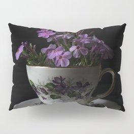 Botanical Tea Cup Pillow Sham
