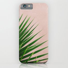 Summer Time | Palm Leaves Photo iPhone Case