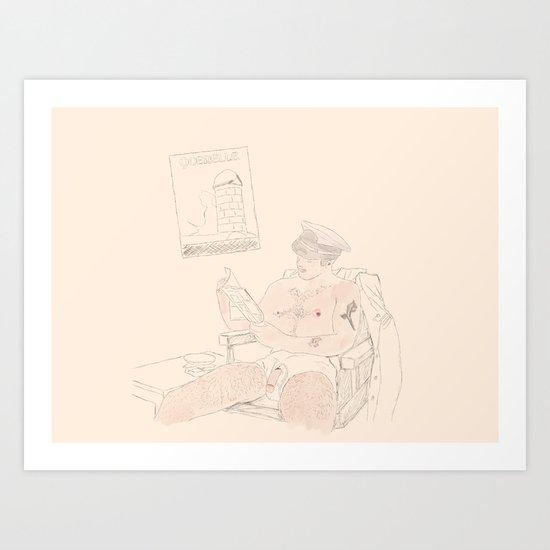 Querelle by idrawgaylines