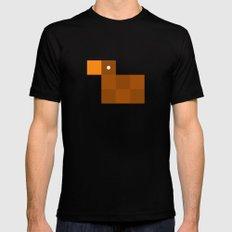 Pixel by pixel – Duck Black Mens Fitted Tee MEDIUM