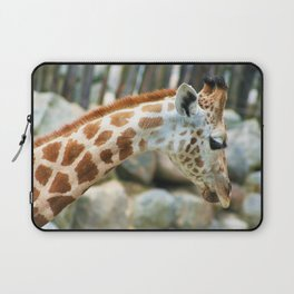 Sad Giraffe Laptop Sleeve