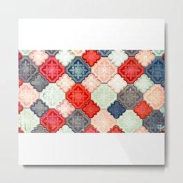 Azulejos/Islamofilia Metal Print