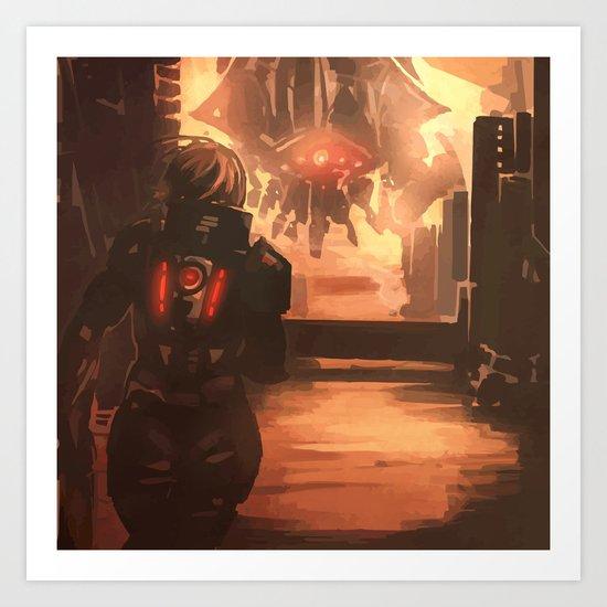 Reaper Scout Art Print