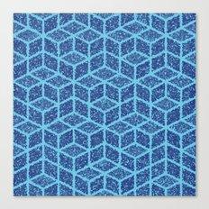 Kenna (Blue) Canvas Print