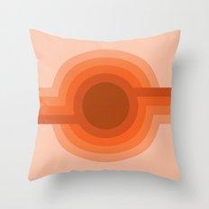 Sunspot - Red Rock Throw Pillow