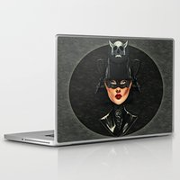 samurai Laptop & iPad Skins featuring Samurai by Giulio Rossi