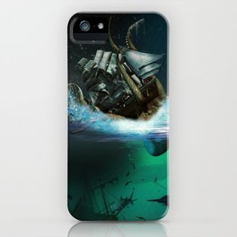 Kraken Attack iPhone Case
