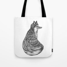 Fox- Feathered. Tote Bag