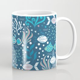 Fishes pattern Coffee Mug