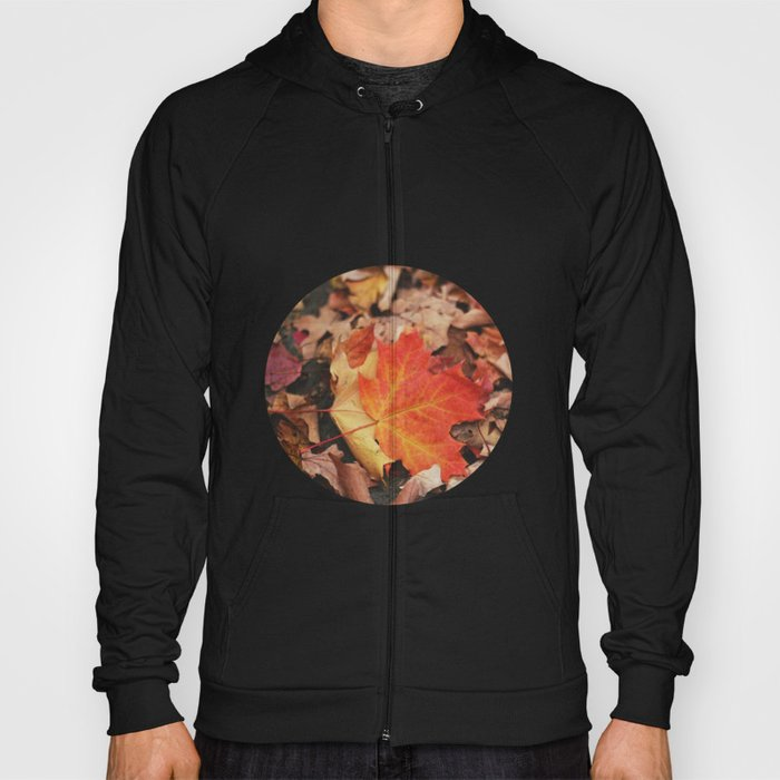 crimson leaves Hoody
