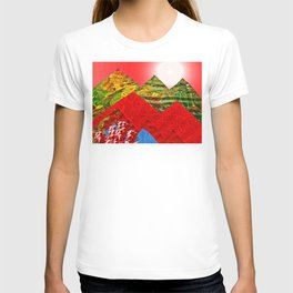 Colorful Peaks T-shirt