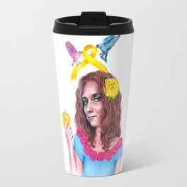 Snow White II | Endometriosis awareness Travel Mug