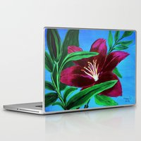 lily Laptop & iPad Skins featuring Lily by maggs326
