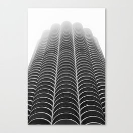 Foggy Chicago Morning 005 Canvas Print