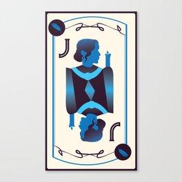 Jack of Sages Canvas Print