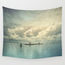 the art of silence Wall Tapestry